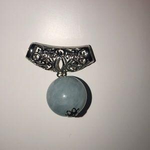 JTV Aquamarine Pendant